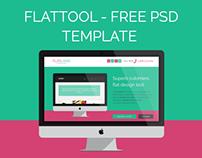 Freebie - FlatTool - Free PSD Template