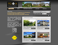 Intégration site Pascale Gougeon Immobilier