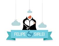 Convite de Casamento • Felipe e Sirlei