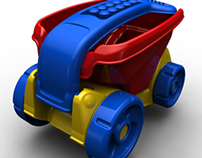 FILL AND DUMP WAGON - TOY DESIGN