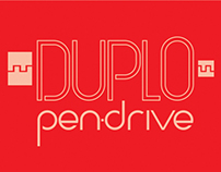 Embalagem e Branding DUPLO Pen Drive