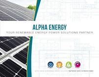 Renewable Energy Tri-fold Brochure