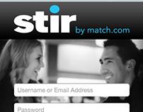 Match.com - Stir Mobile App