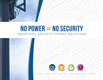 Industrial Security Solutions Tri-fold Brochure