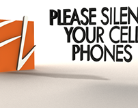 """Please Silence Your Cell Phone"" Motion Graphic"