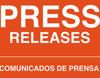 Press Releases / Comunicados de Prensa