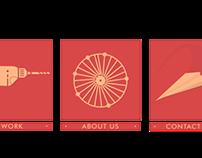 content menu boxes