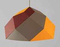 meshe design I hexas lamp