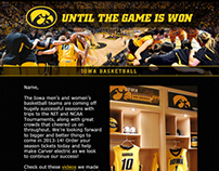E-Mail Design: Iowa Hawkeyes