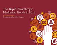 Top 5 Philanthropic Marketing Trends in 2013
