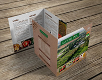 La Collina   Brochure for an organic farm.