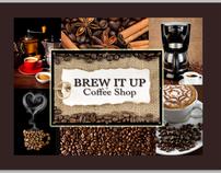 Coffee Shop Menu Design Advertisement