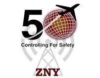 FAA's 50 year celebration logo