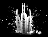 Art Direction & Brand - LIONESS PAW - Premium Vodka
