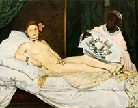 Edouard  Manet Collage Work
