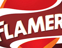 "Branding - Flamers ""keep your home warm"""