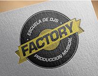 Branding / Factory Dj School (2013)