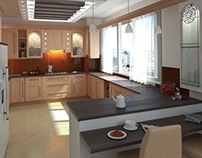 Bavar Novin Co Project - Kitchen