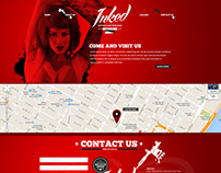 Inked Web PSD Template
