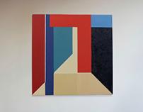 Luz Interna, da série Quartos -  Oil on canvas