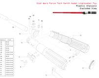 Lightsaber Plastic Parts Analysis