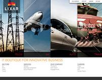 Lixar IT Website Redesign