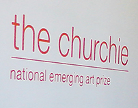 Churchie Exhibition Signage