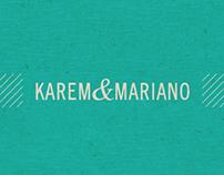 Karem & Mariano