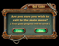Hidden Object Minigames and UI