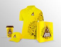 Tea Tent Branding