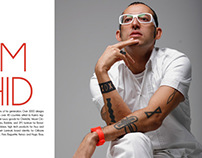 Karim Rashid Magazine Spread