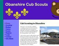 Obanshire Cub Scouts Website