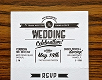 Wedding Invitation: Trinh & Omar