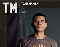 Team Manila fall holiday 2013 lookbook. (Print Ads)