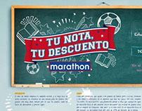 Tu Nota tu Descuento - Marathon