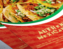 Authentic Mexican Food Flyer