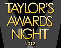 Poster Design | Taylor's Awards Night 2012