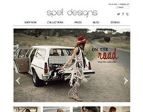 Spell Designs - Ecommerce Site
