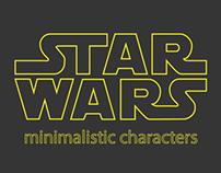 Minimalistic Star Wars Characters