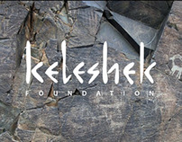 Keleshek Foundation logotype and stationary