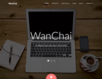 WanChai – Responsive Onepage Portfolio
