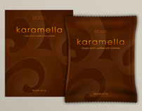 Caramella waffle package