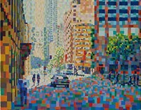 Sydney - Anonymous City  51x71cm