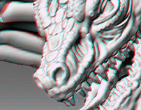 Anaglyph 3d Print