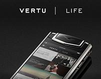 Vertu  |  Life.  App Concept