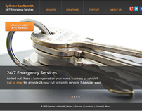 Web Development & Management - Splinter Locksmith