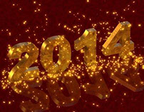 2014 Background - Red and Gold