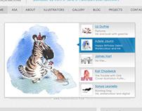 """Sketch"" website template"