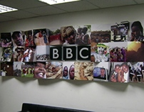 BBC Kenya Branding and murals