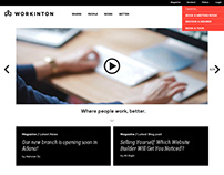 Workinton | Shared Offices Corporate Website